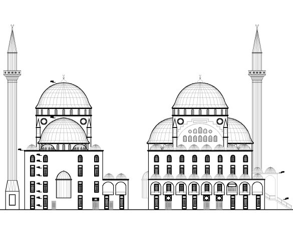Mimari Cami Cizimleri
