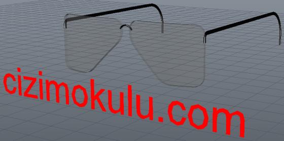 3d glasses dwg