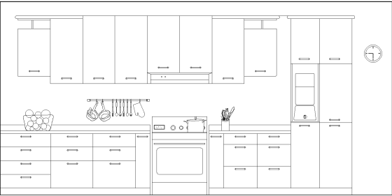Kitchen view detail