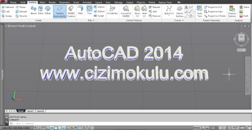 AutoCAD 2014 Beta 1 Ekran Görüntüsü