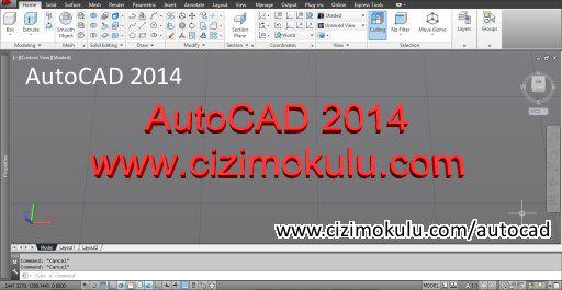 AutoCAD 2014 Ekran Görüntüsü